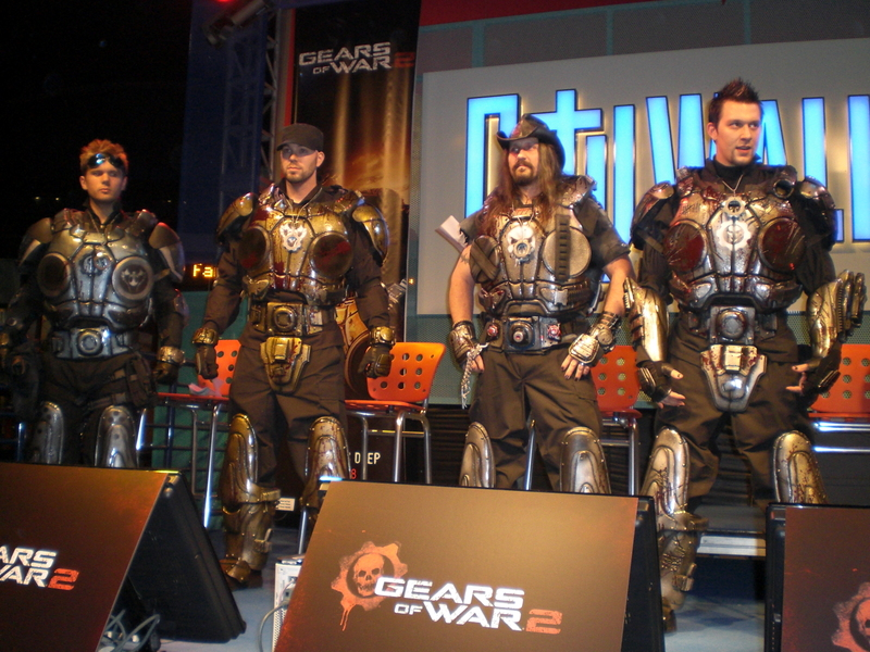Nightmare Armor don Gears of War 2 costumes